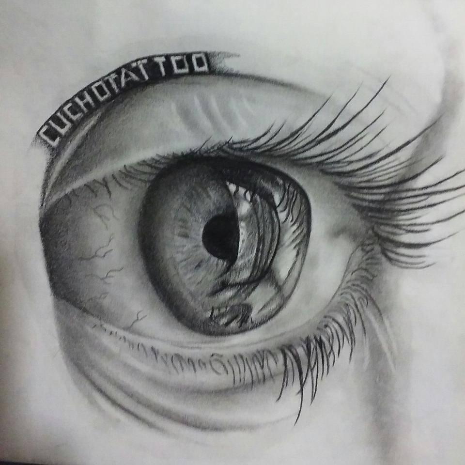 Ojos dibujos a l piz de ojos realistas tatuajes y tatuadores cucho tattoo - Ojos ahumados para principiantes ...