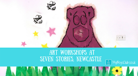 Art Workshops for Kids at Seven Stories, Newcastle (REVIEW)