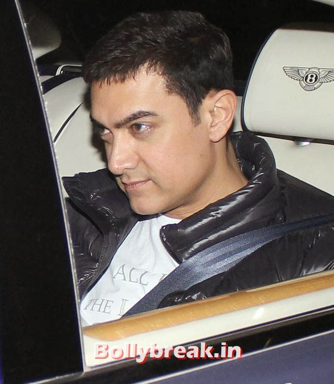 Aamir Khan, Deepika, Ranverr, Jackie, Malaika & Other Celebs at Gunday Special Screening