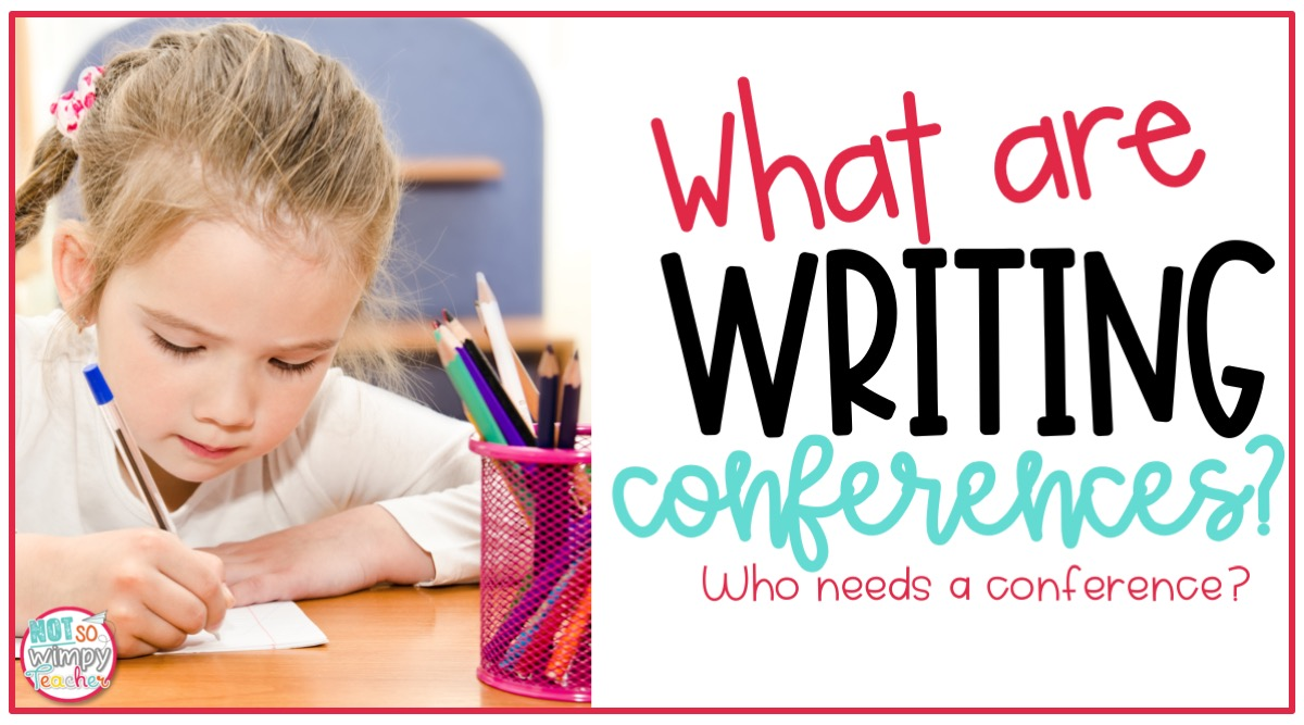 What are writing conferences cover image girl with blond hair writing