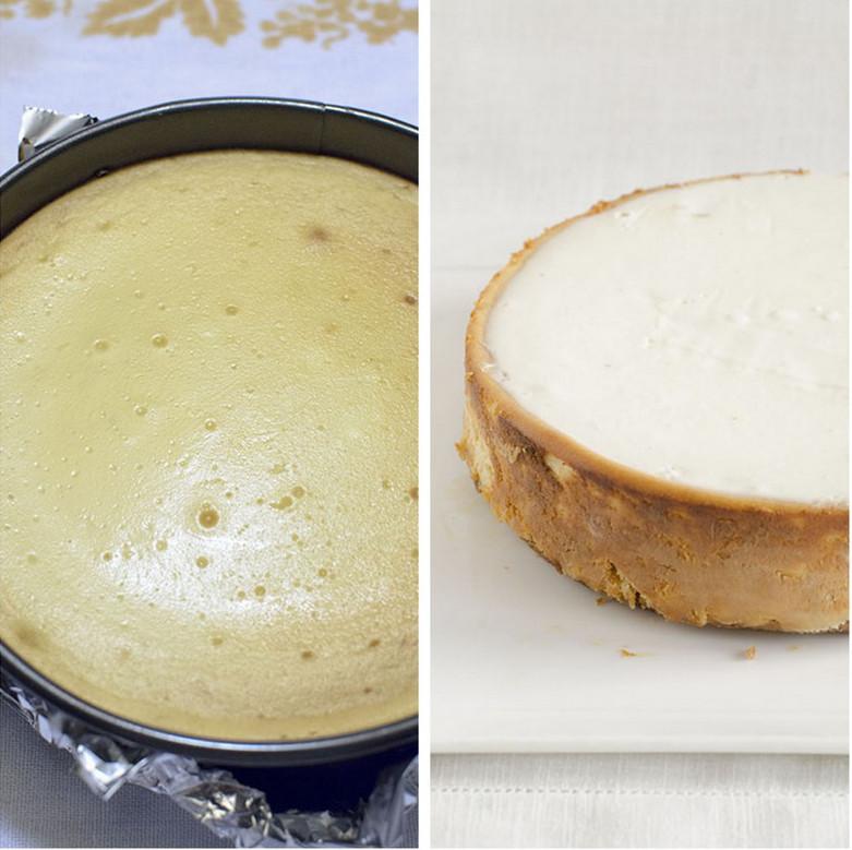 cheesecake appena sfornato