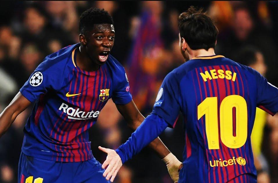 Barcellona-Chelsea 3-0 con Messi (2) e Dembelè, Conte fuori dalla Champions