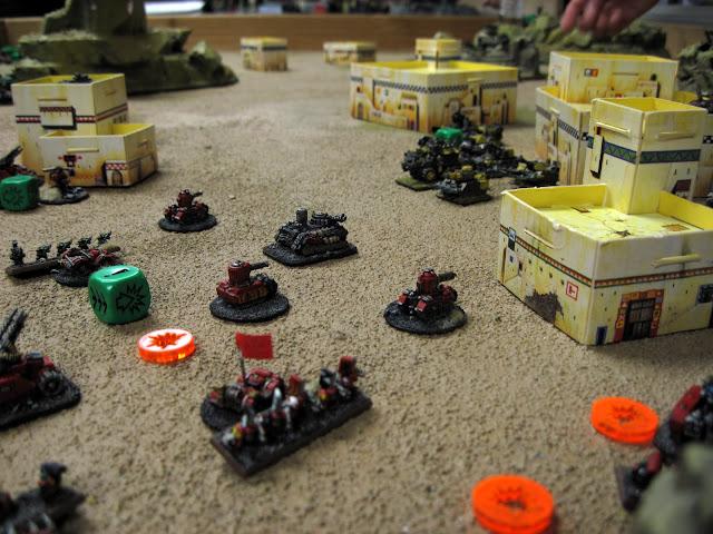 Matt A's Speed Freeks take on Chroma's War Horde.