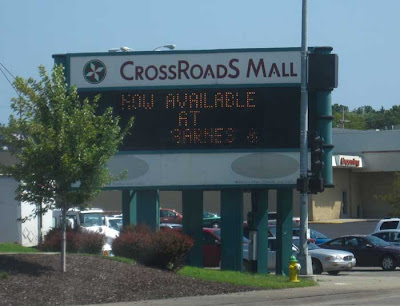 CrossRoadS Mall sign