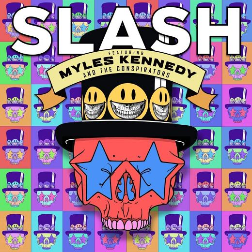 SLASH feat. Myles Kennedy & The Conspirators - Living The Dream (2018) full