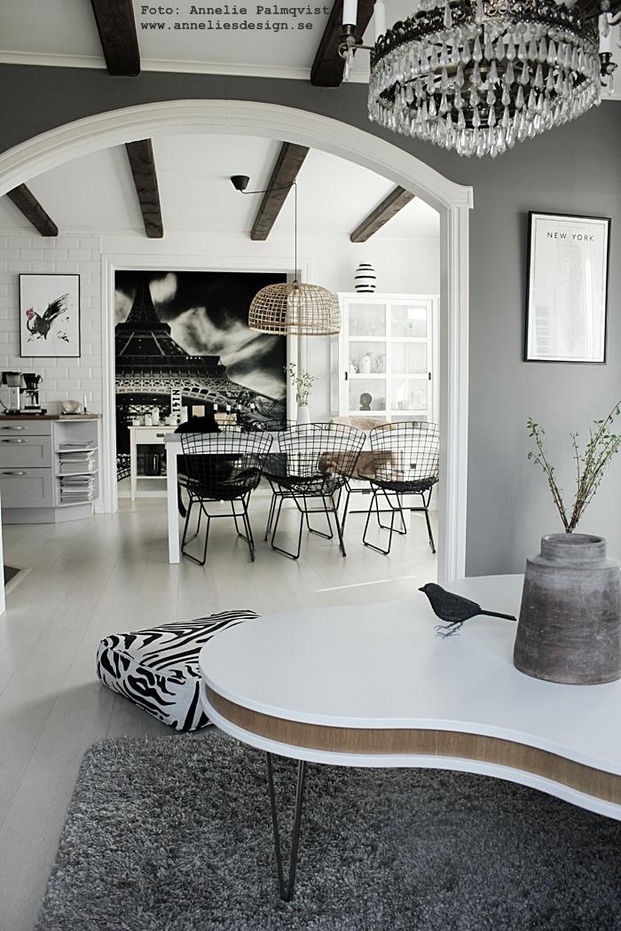 kök, tavlor för köket, tupp, tuppen, tuppar, konsttryck, tavlor, tavla, poster, posters, print, prints, webbutik, webbutiker, webshop, inredning, annelies design, matgrupp, matbord, matstolar, utemöbler, jotex, ulricehamn, stol, vitt golv, plankgolv, plank, golv, golvet, svart och vitt, svarvit, svartvita, fototapet, mr perswall, eiffeltornet, eiffeltorn, kvistar, moccamaster,