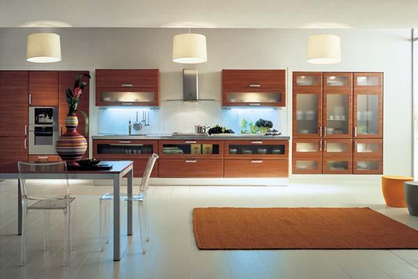 modernas cocinas de madera kitchen design luxury homes. Black Bedroom Furniture Sets. Home Design Ideas