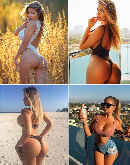 """Russian Kim Kardashian"" The Woman With The World's Most Perfect Bottom!"