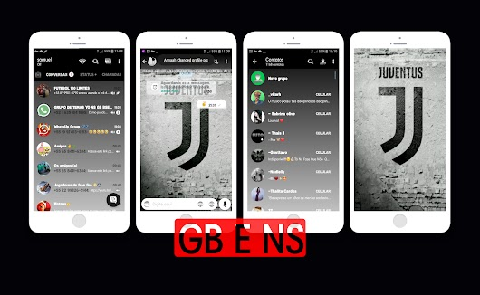 Juventus Theme For GBWhatsApp By Samuel - WhatsApp Themes