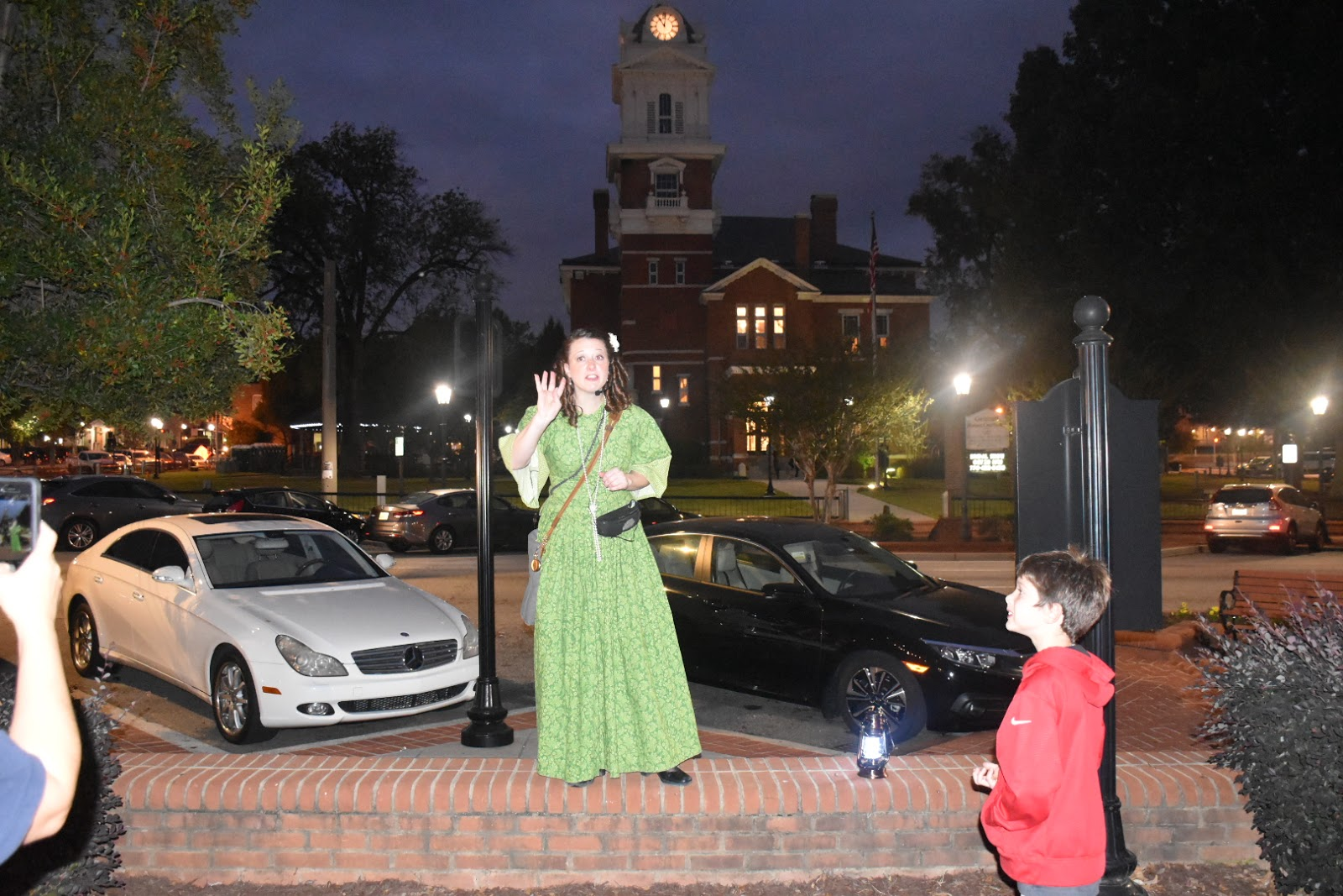 Bone-Chilling Lawrenceville Ghost Tour  via  www.productreviewmom.com
