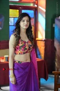 Actress Richa Panai Stills in Half Saree at Rakshaka Bhatudu Sets  0009.JPG