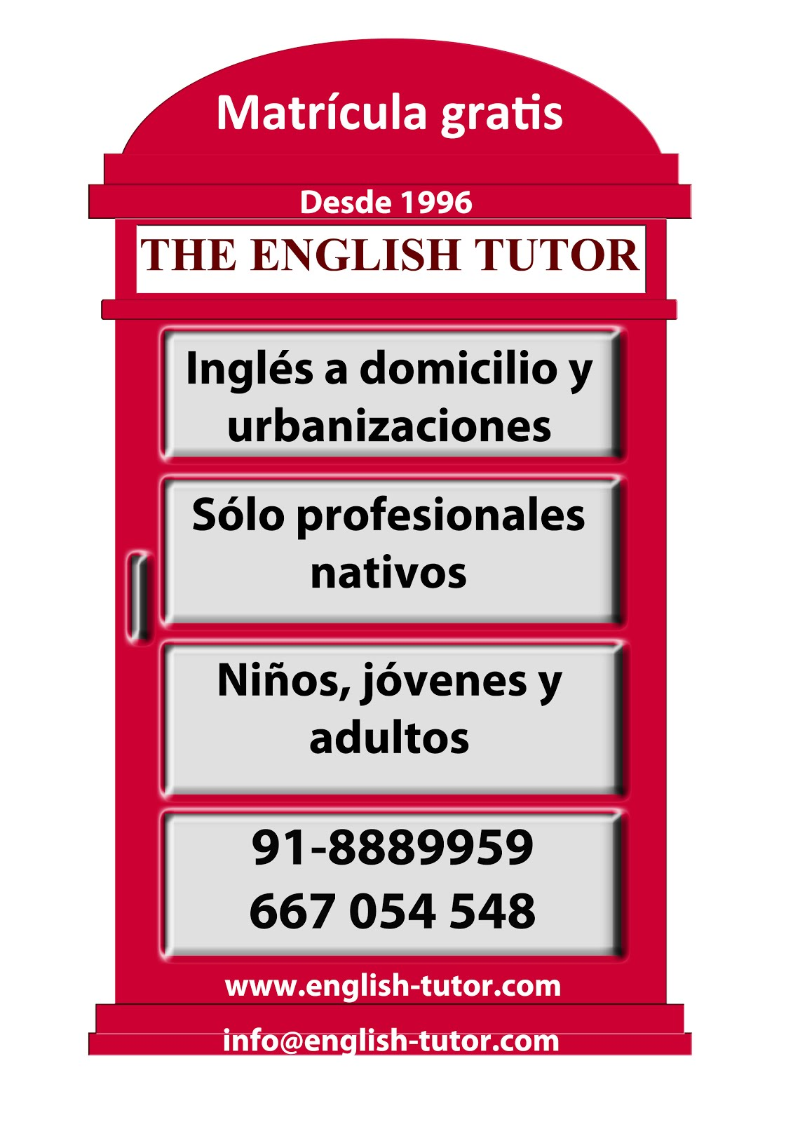 THE ENGLISH TUTOR