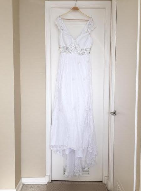 Compre mi vestido de novia por internet