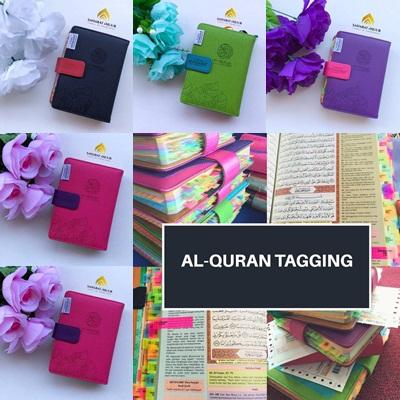 al quran tagging A6 humaira baru