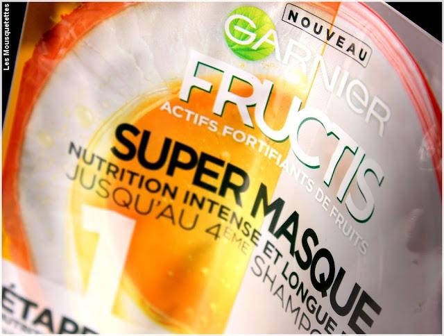 Super Masque cheveux, Fructis de Garnier - Avis blog beauté