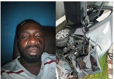 Veteran Nigerian musician, Sky B, involved in ghastly accident