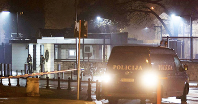 US Embassy 'UNDER ATTACK' by grenade throwing assailant in Montenegro