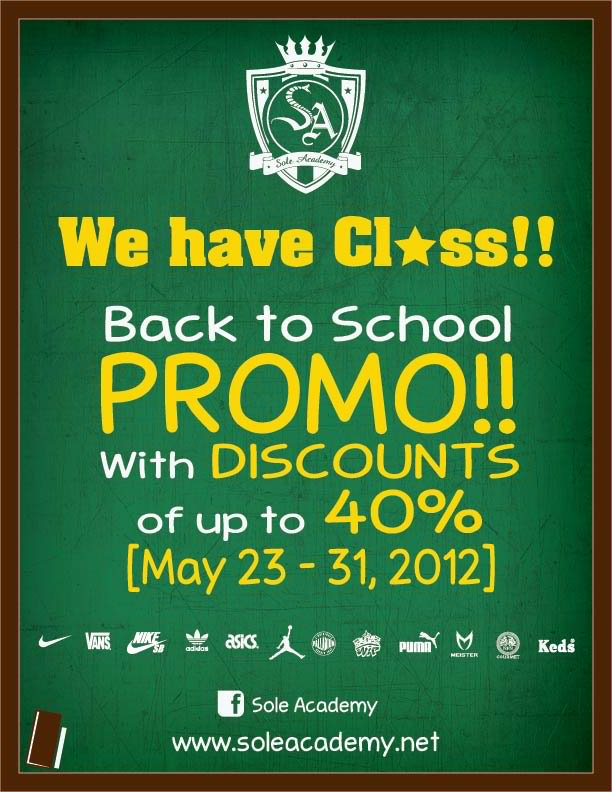 2c32518d7a22 Sole Academy s Back-to-School Promo is ongoing until May 31