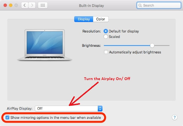 AirPlay on Mac