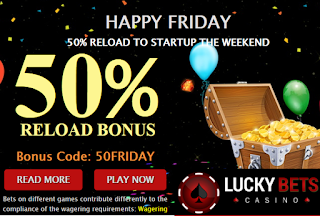 Lucky Bets Casino Australia - Happy Friday
