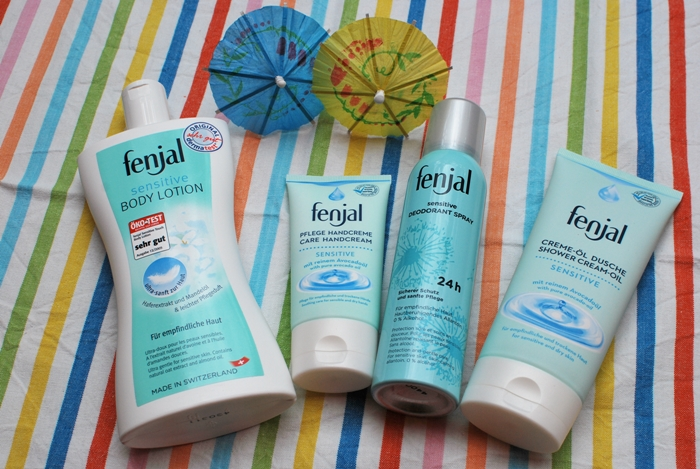 fenjal sensitive Bodylotion Handcreme Deodorant Spray Creme-Öl Dusche