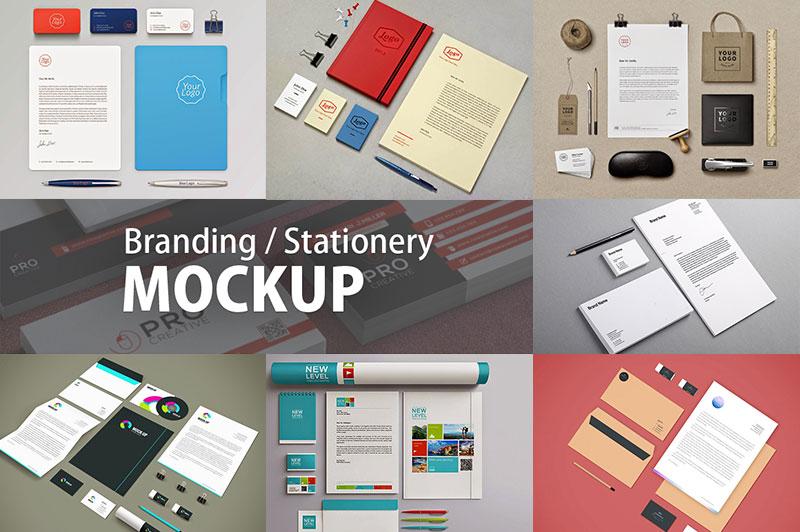 90 Free Stationery Branding Mockup PSD for Identity Designs