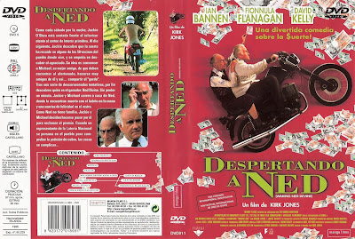 Descapertando a Ned | 1998 | Waking Ned Devine | Dvd Cover | Caratula