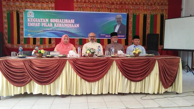 Ghazali Abbas Adan Sosialisasikan Empat Pilar Kebangsaan