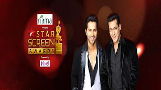 Star Screen Awards HDTVRip 720p 31st December 2017  [550MB]