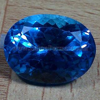 Batu Permata Blue Topaz - ZP 981