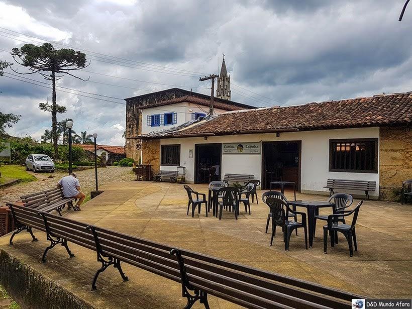Lanchonete e loja de souvenir - Santuário do Caraça
