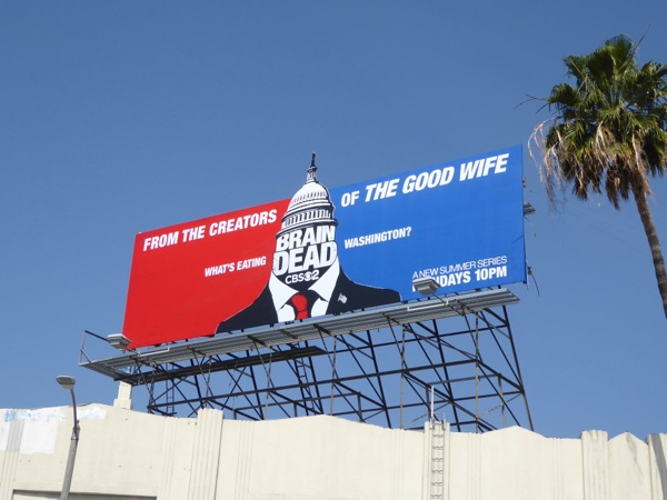 BrainDead special extension cut-out billboard