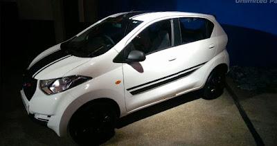 Datsun redi-GO Sport Limited Edition white image