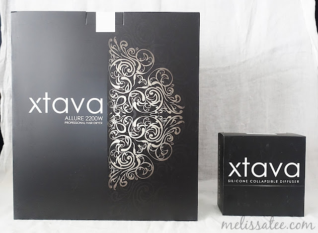 xtava, xtava allure hair dryer, xtava allure hair dryer review, xtava collapsible hair diffuser review