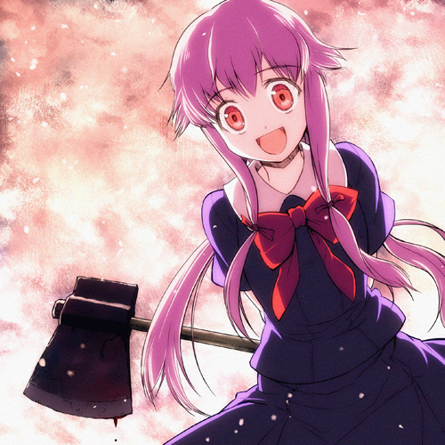 yandere anime girls mirai - photo #17