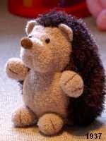 patron gratis erizo amigurumi de punto, free knit amigurumi pattern hedgehog