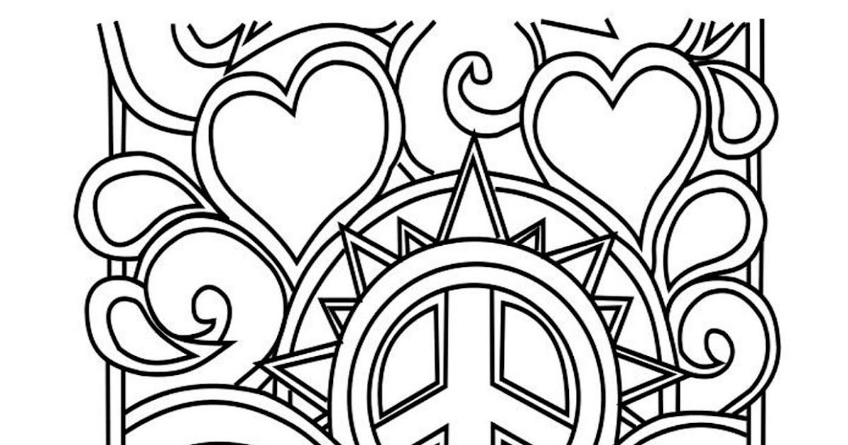 Dibujos Para Colorear Del Dia De La Paz. Banderines Da De