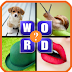 What The Word - 4 Pics 1 Word - Fun Word Guessing Game Tips, Tricks & Cheat Code