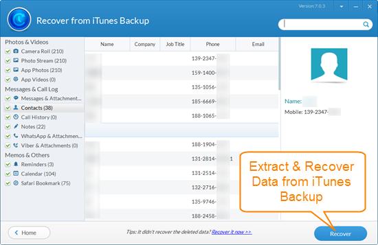 iphone backup extractor,iphone backup extractor free,extract iphone backup,extract data from iphone backup