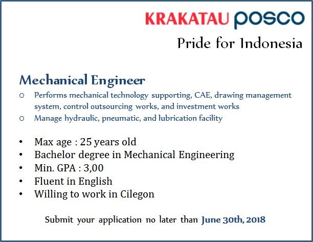 Lowongan Kerja Terbaru PT Krakatau Posco Energy 2018 kpc2