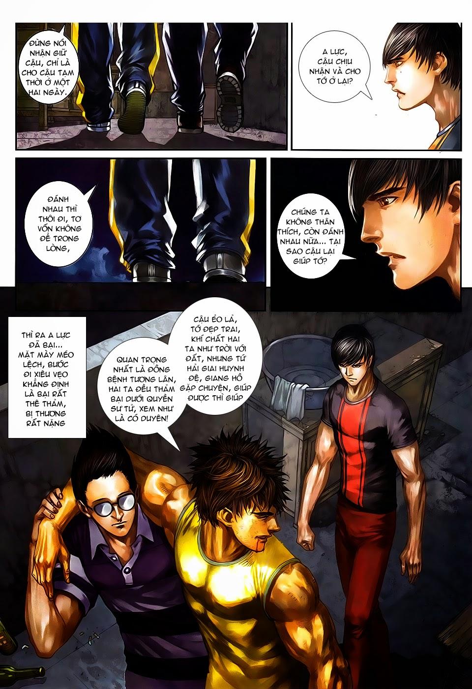 Quyền Đạo chapter 8 trang 5