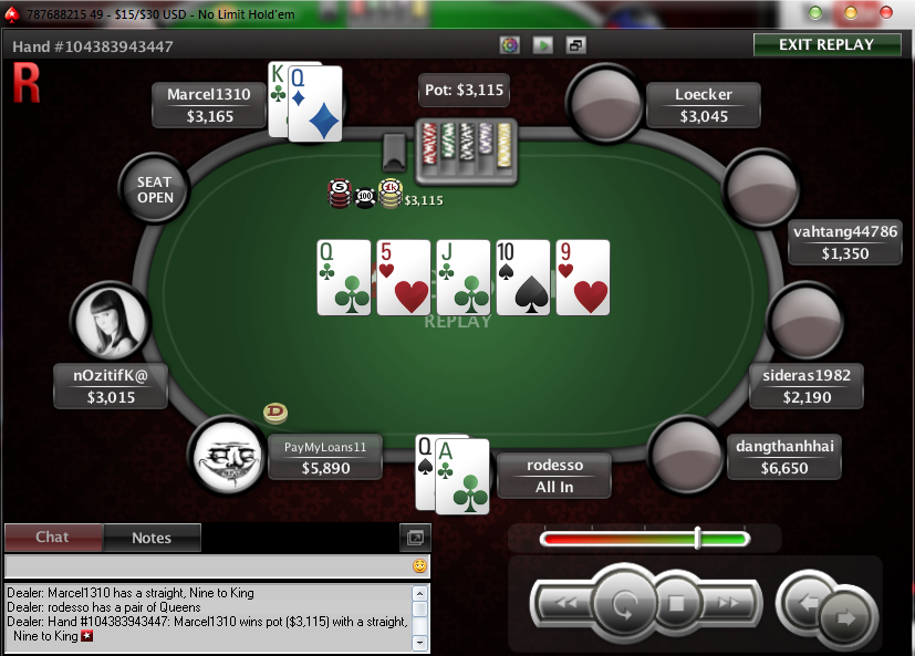 Poker see call raise