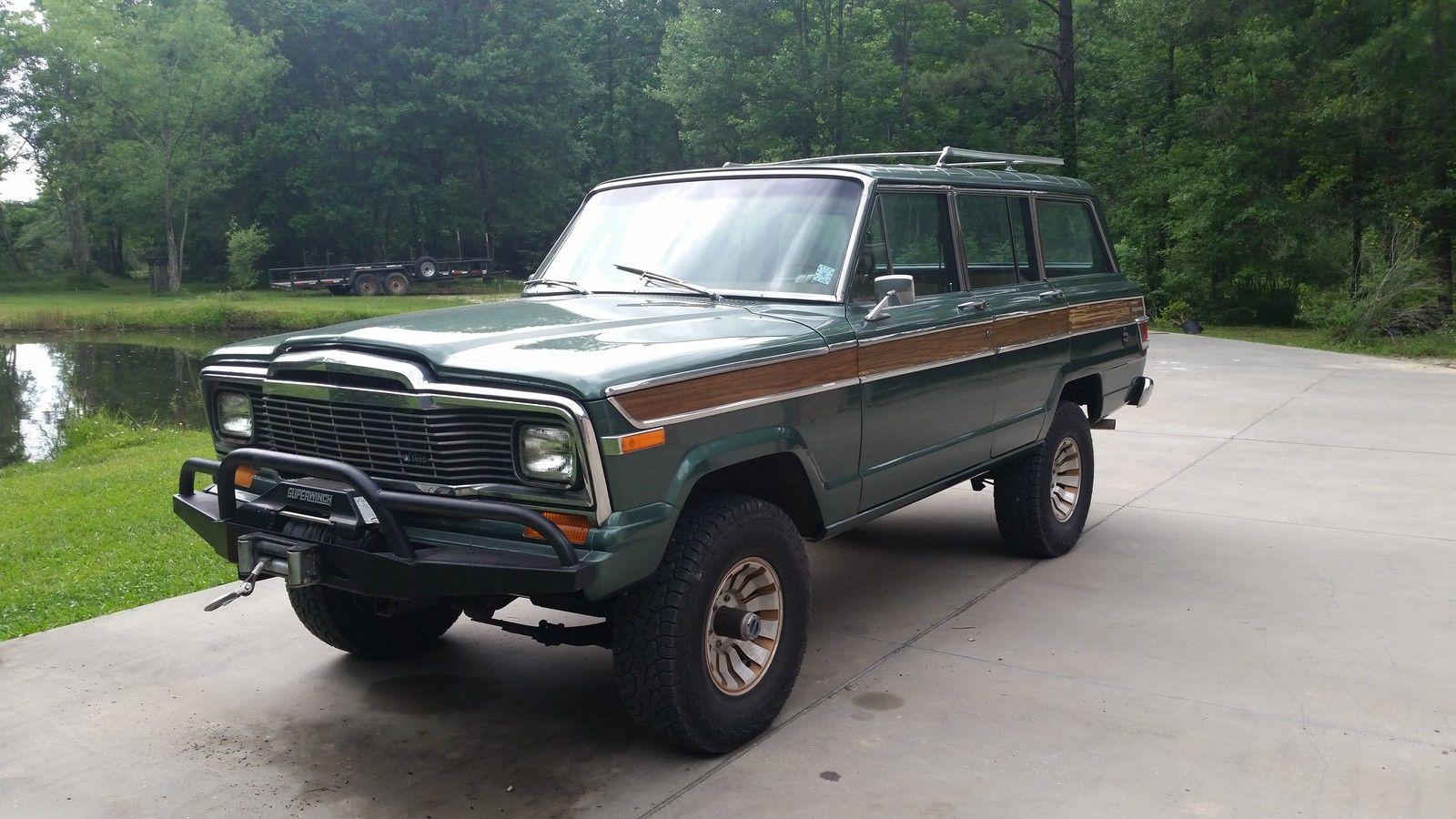 daily turismo vortec v8 swap 1979 jeep wagoneer. Black Bedroom Furniture Sets. Home Design Ideas