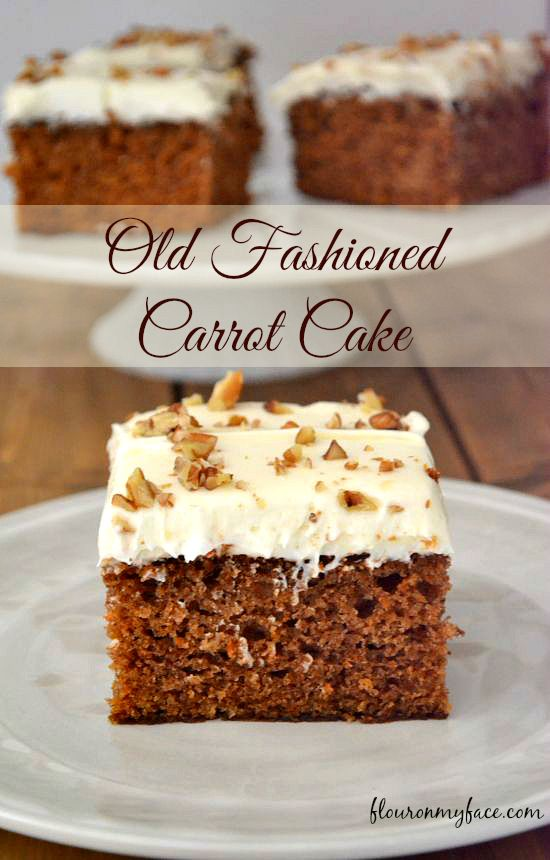 ★★★★☆ 3910 ratings       | VINTAGE RECIPE OLD FASHIONED CARROT CAKE #VINTAGE #RECIPE #OLD #FASHIONED #CARROT #CAKE