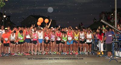 Media Maraton Nocturna Ponferrada 2019