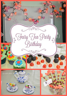 Simple and Sweet Fairy Tea Party Birthday