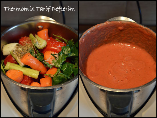 Step by step photographed Rich Tomato Conserve Recipe with Thermomix