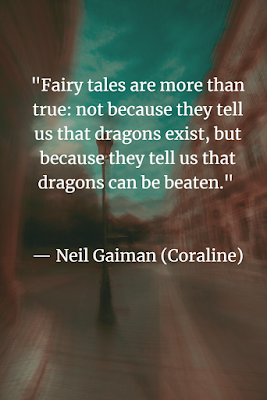 Neil Gaiman quote for inspiration