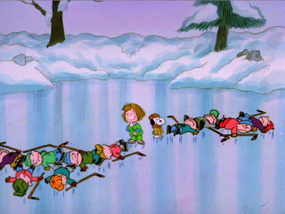 Charlie Brown Fall Wallpaper Charlie Brown S Non Holiday Specials She S A Good Skate