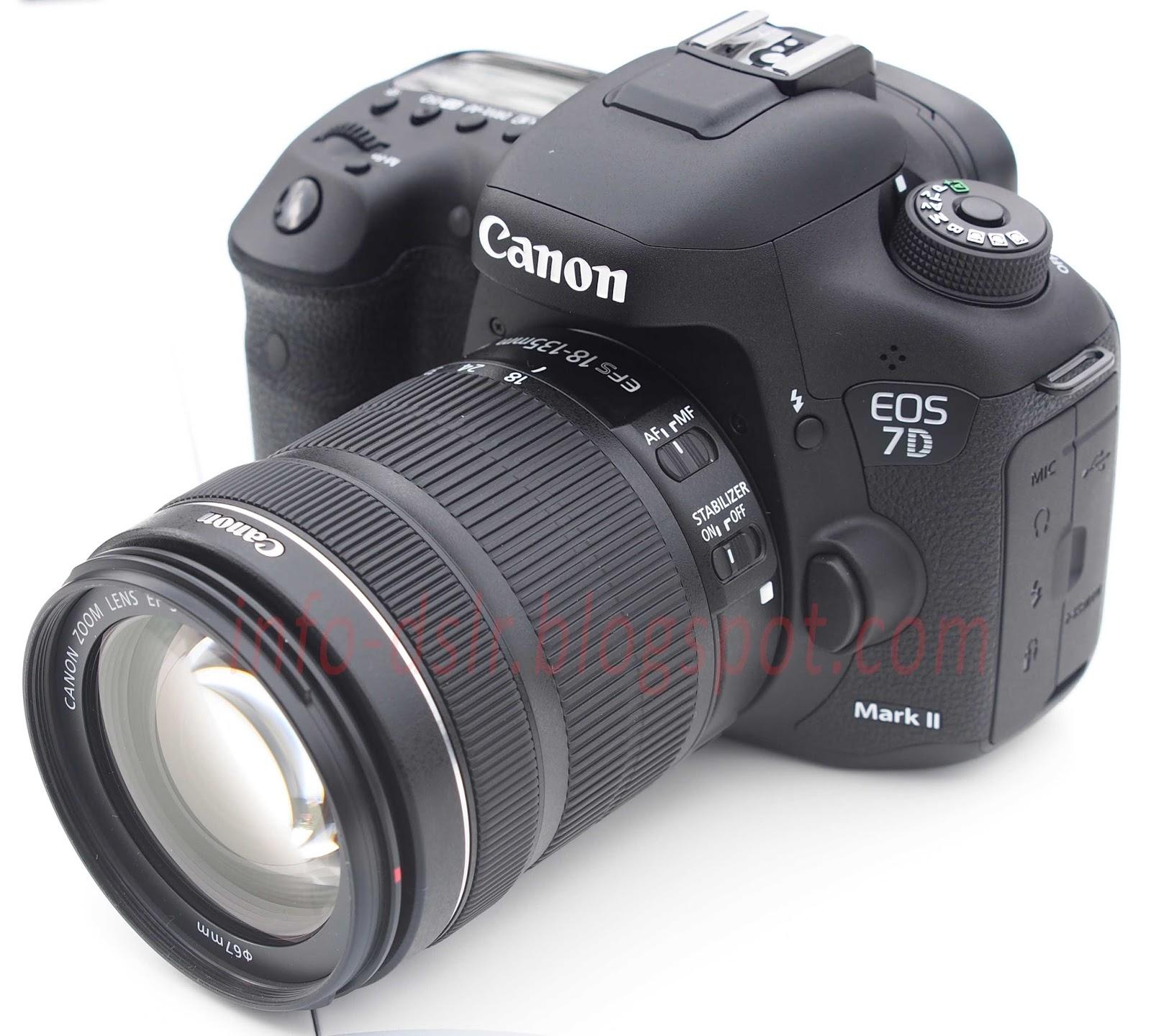 Spesifikasi dan Harga Terbaru Canon EOS 7D Mark II 2017